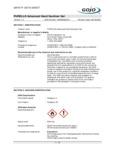 Purell Advanced Hand Sanitizer SDS