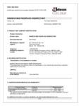 Windex Multi-Surface Disinfectant Sanitizer SDS