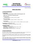 XenoEnergy_Material_Safety_Data_Sheet_E