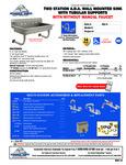 Advance Tabco FS-WM-40-ADA-F, FS-WM-40-ADA Specsheet