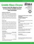 Noble Chemical 32 oz. Griddle Kleen Specs