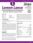Noble Chemical Lemon Lance Spec Sheet