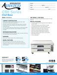 178CBE60HC Spec Sheet