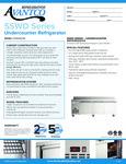 Avantco SS-WD-3R 93