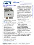 Pitco 184 Gas Spec