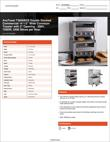 Avatoast Double Stacked Commercial Conveyor Toaster