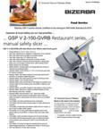 256GSPV150G Spec Sheet