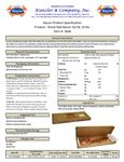 Spec Sheet/Nutrition