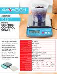 AvaWeigh PC10 Spec Sheet