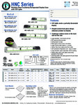 Hoshizaki HNC Series Spec Sheet