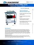 Lakeside Medium Duty Carts Spec Sheet