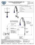 T&S B-0123-CR-B8P Specsheet