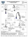 T&S B-5110-12-CRB8P Specsheet