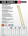 85233012 - Bauer 330 Series Ladders