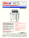 Turbo Air EST-36-15-N6 Spec Sheet