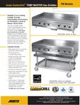 Anets Temp Master Griddle Specsheet
