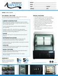 Avantco 178DLC36HCB Specsheet