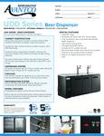 Avantco UDD Spec Sheet