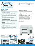 Avantco CBE-36-HC 36 2 Drawer Refrigerated Chef Base Specsheet