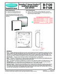 B-7120-7128 Spec Sheet