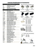 Advance Tabco Underbar Accessories Sheet
