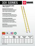 Bauer 85233116 331 Series Ladders SS
