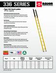 Bauer 85233608 336 Series Ladders SS