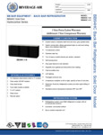 Bev-Air BB94HC-1-B-WINE Specsheet