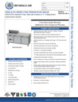 Bev Air SPED72HC-08C-2 Specsheet