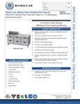 Bev Air SPED72HC-08C-6 Specsheet