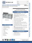 Bev Air SPED72HC-10-2 Specsheet