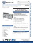 Bev Air SPED72HC-10-4 Specsheet