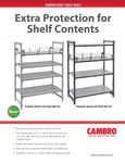Cambro Shelf Rail Kits