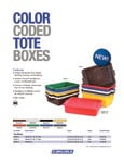 Carlisle NSF Color-Coded Tote Boxes / Bus Tubs