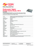 CDN SD5502 Data Sheet