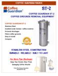 Coffee Guardian ST2 Spec Sheet