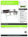 Regency 600S3182424 LFT spec sheet