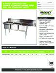 Regency 600S3182424 RT spec sheet