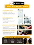Cook and Hold Spec Sheet