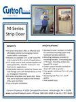 Cutron M-Series Strip Door Specsheet