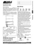 Eagle Group Wire Shelving Specsheet