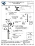 T&S EC-1210-10-WFK Specsheet