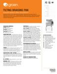 Groen BPM-15EC Spec Sheet
