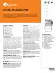 Groen BPM-30EC/40EC Spec Sheet