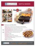Eurodib Waffle Makers Spec