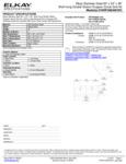 Elkay EWSF26026KWC Spec Sheet