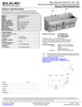 Elkay EWSF26026KWSC Spec Sheet