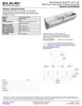 Elkay EWSF390263 Spec Sheet