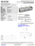 Elkay EWSF39026KWSC Spec Sheet