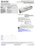 Elkay EWSF39026SACC Spec Sheet